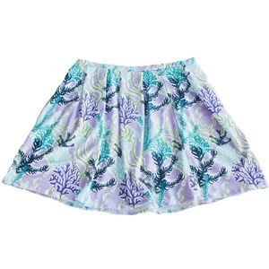 NWT Lolly Wolly Doodle XL Purple Coral Reef Skirt
